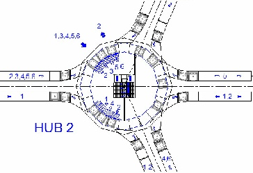 Four Link Hub