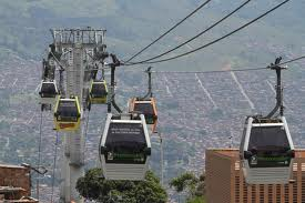 Urban Monocable Ropeway in Columbia